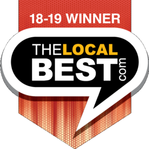 Awarded The Local Best since 2010.