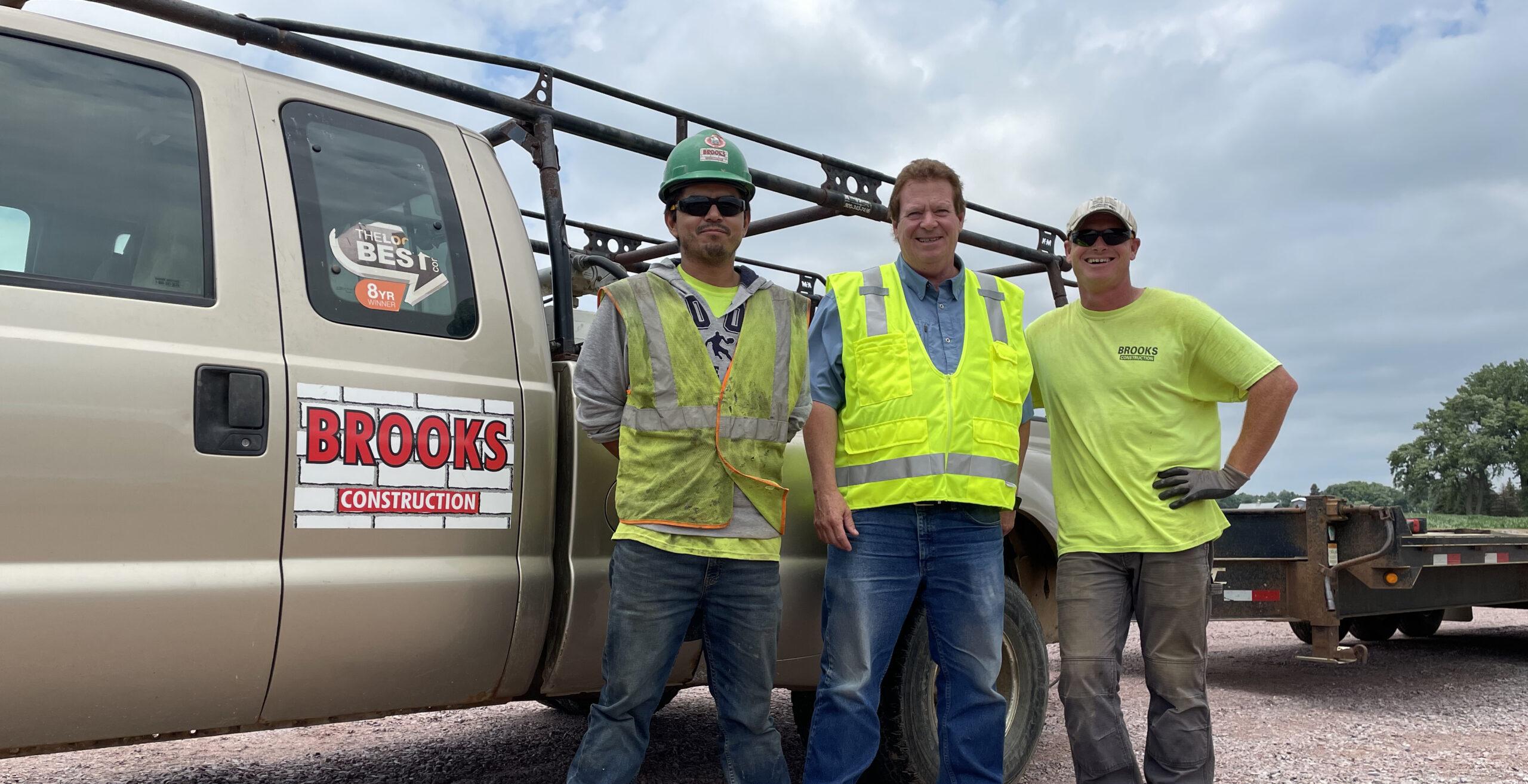 Brooks Construction Crew