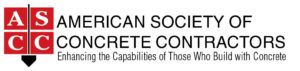 Members of American Society of Concrete Contractors.