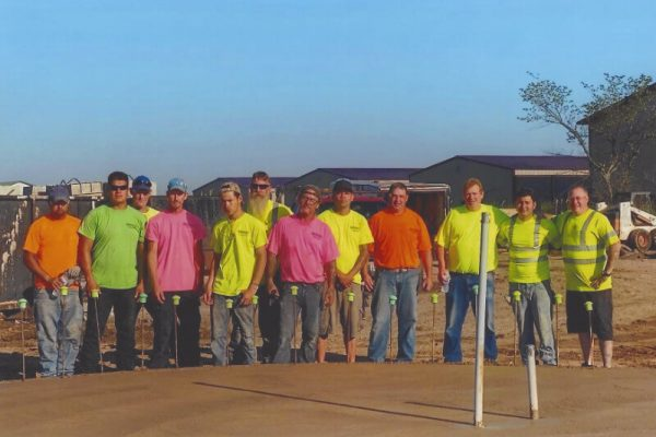 Brooks Construction team photo